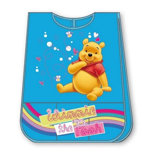 Tablier imperméable winnie l'ourson bleu Winnie L'ourson