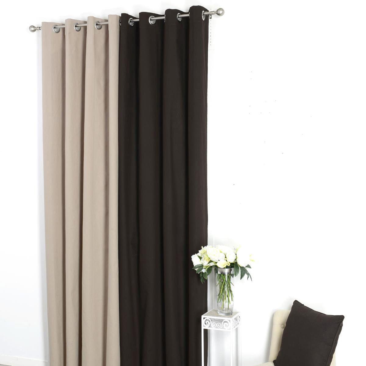 oeillets pour rideaux topiwall. Black Bedroom Furniture Sets. Home Design Ideas
