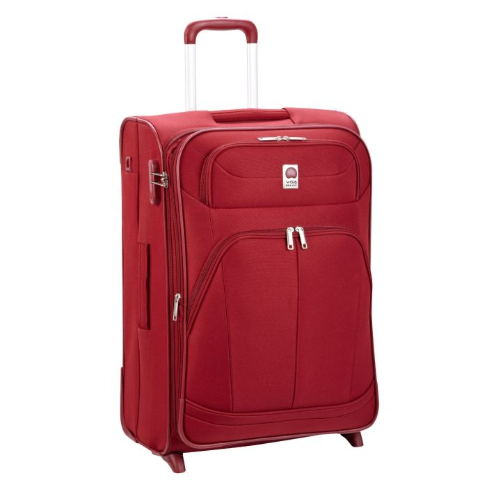 DELSEY Valise trolley 2 roues PIN UP 4 Rouge Achat / Vente valise