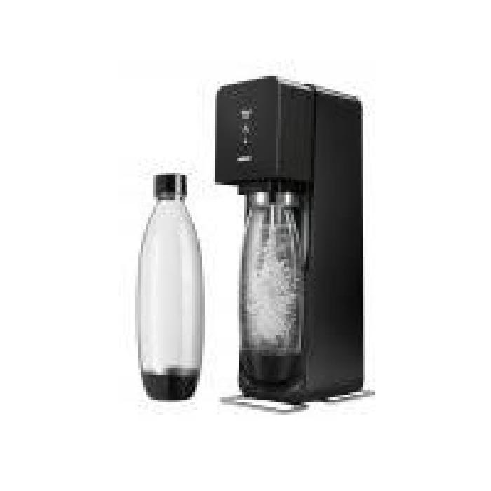 à soda Sodastream Source noire + 2 bouteilles La machine SOURCE