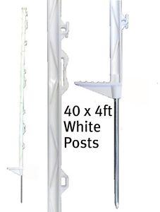 Postes 138cm Grand Clôture Grillage Électrique Piquet High