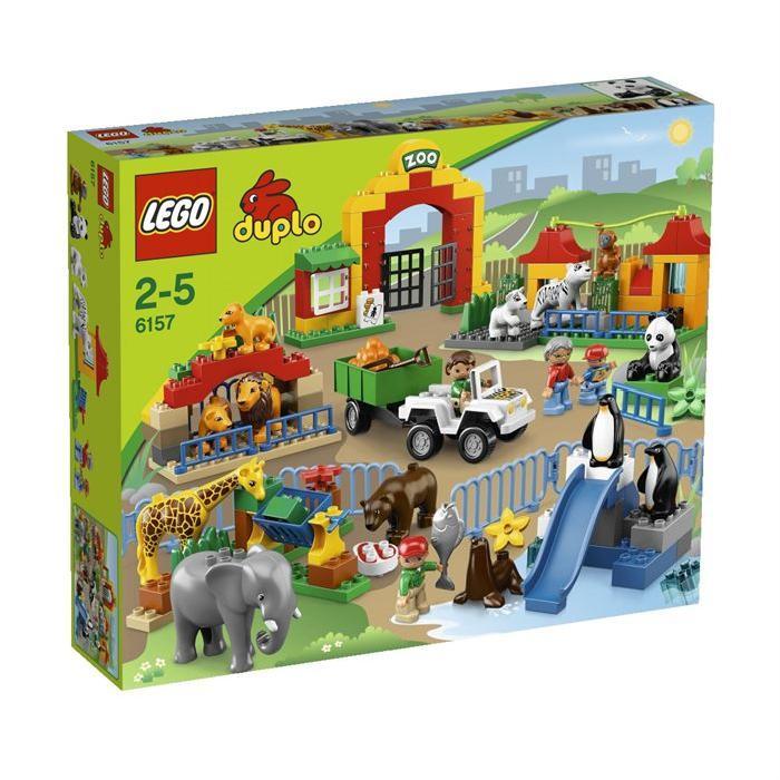 Duplo Lego Ville Le Grand Zoo Achat / Vente assemblage