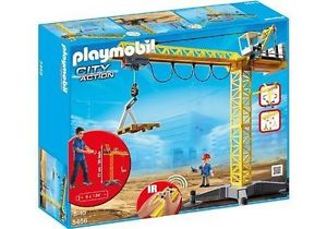 Playmobil 5466 Big Crane with Remote control