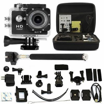 OMMI® 2.0″ WIFI Action Go Sport pro Cam Camera Waterproof Full HD