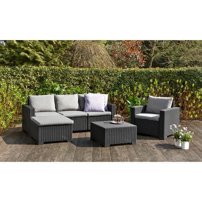 salon de jardin en resine tressee topiwall. Black Bedroom Furniture Sets. Home Design Ideas