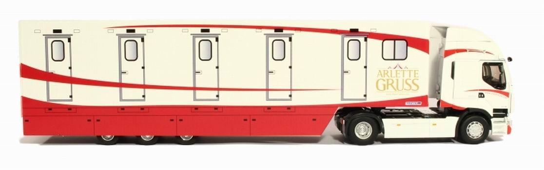 Camion RENAULT Premium DXI Remorque Hébergement Cirque Arlette GRUSS