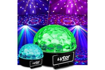 Pack jeux de lumière Jeux de lumière Boules ASTRO 6 LED RVB Sixmagic