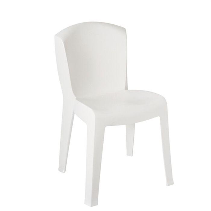 blanc Achat / Vente chaise fauteuil jardin Chaises de jardin