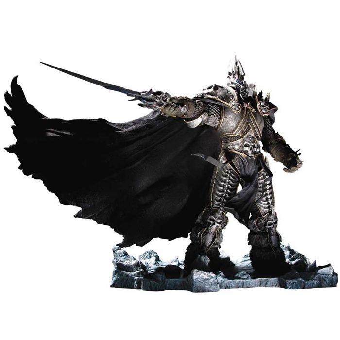 Statue WOW king ARTHAS deluxe DC DIRECT Achat / Vente figurine