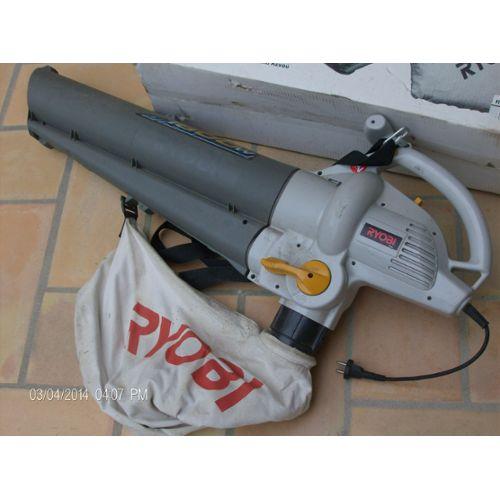 aspirateur souffleur broyeur Ryobi E65418 pas cher