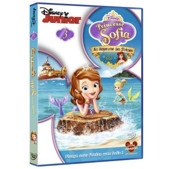 Princesse Sofia Princesse Sofia Volume 3 Au royaume des sirènes DVD