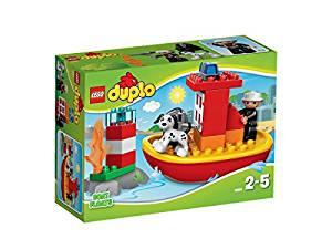LEGO DUPLO Ville 10591 Jeu De Construction Le Bateau Des