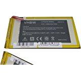 Batterie vhbw 1800mAh (3.7V) pour tablette Acer Iconia Tab B1 710, B1