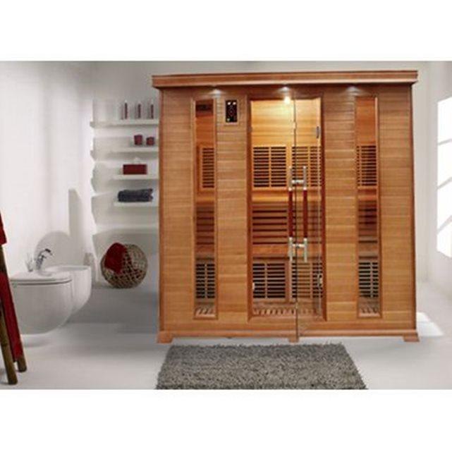 Sauna infrarouge luxe 5 personnes France Sauna