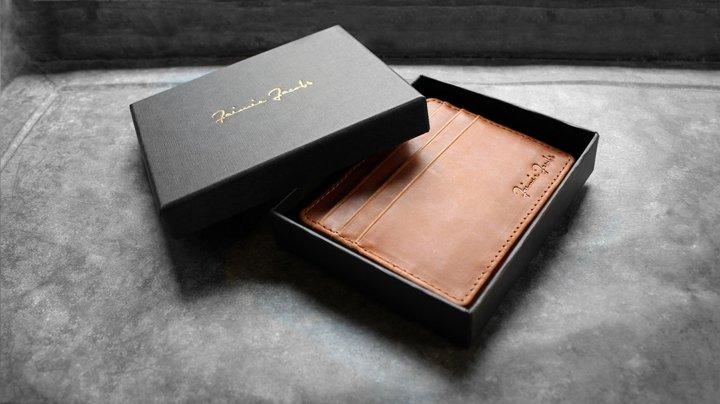 Jaimie Jacobs Magic Wallet «Flap Boy Slim» Portefeuille pour Homme en