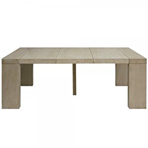 Table console extensible topiwall - Console extensible taupe ...