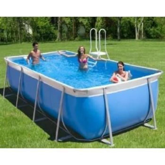 Achat / Vente kit piscine piscine tubulaire rectangle