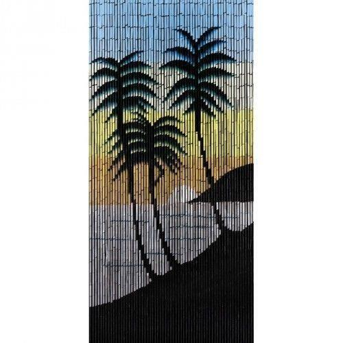 Motif mer du sud Rideaux Rideau en bambou 90 x 200 cm