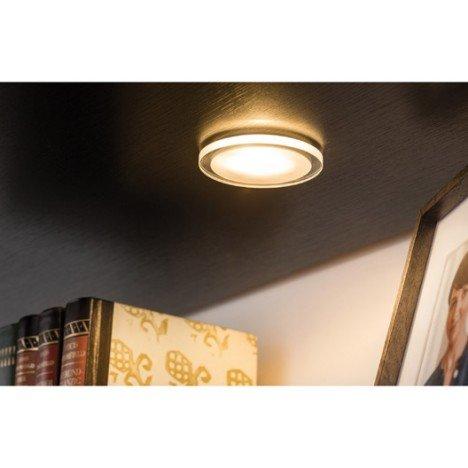 Kit 3 spots à encastrer Mini whirl fixe led PAULMANN LED intégrée