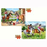 Castorland Puzzle 120 pièces : Bambi et sa maman pas cher Achat