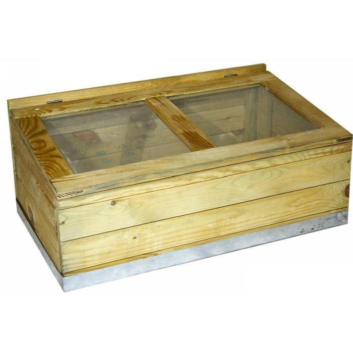 Serre en bois modèle Rimini Achat / Vente serre de jardinage Serre