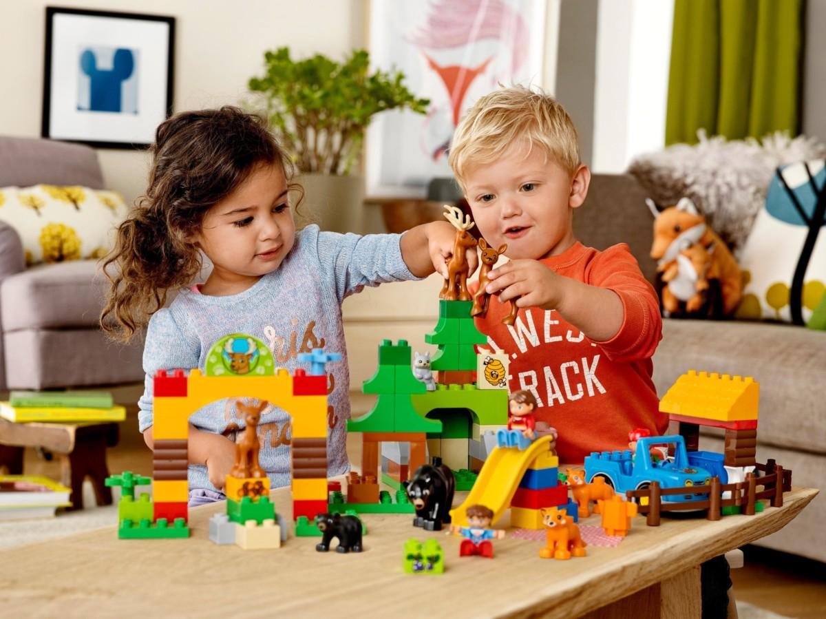 LEGO 10805 Le Tour du Monde: Jeux et Jouets