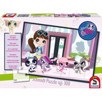 Puzzle 100 Pièces : Littlest Pet Shop Shopping, Schmidt Spiele