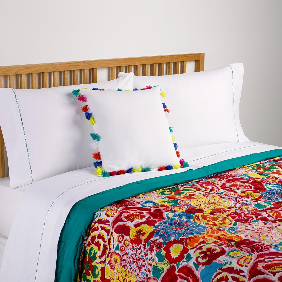 couvre lit multicolore Couvre lit boutis   TopiWall couvre lit multicolore