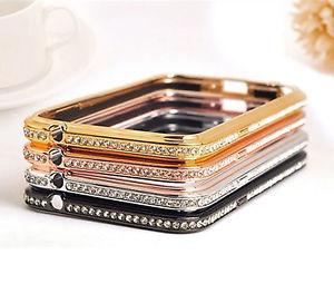 Cristal Etui bling Aluminium housse coque pour Samsung galaxy S5 S4 S4