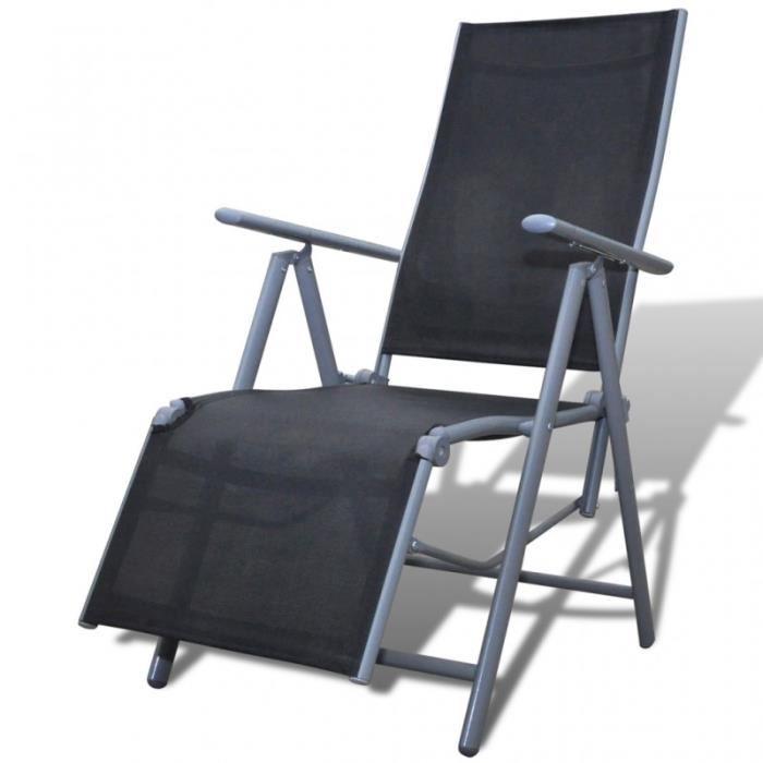 Chaise Longue De Jardin Pliante chaise longue de jardin pliable | netcap creation