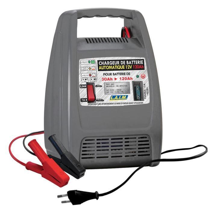 / Vente chargeur de batterie CHARGEUR BATTERIE 12V 120AH