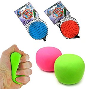 La vraie Balle anti stress Antistress ball Couleur aléatoire
