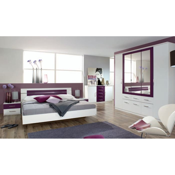 Chambre complete adulte topiwall for Chambres a coucher completes adultes