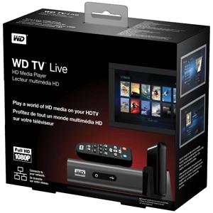 Western Digital WD TV Live Lecteur multimédia Full HD Port Ethernet
