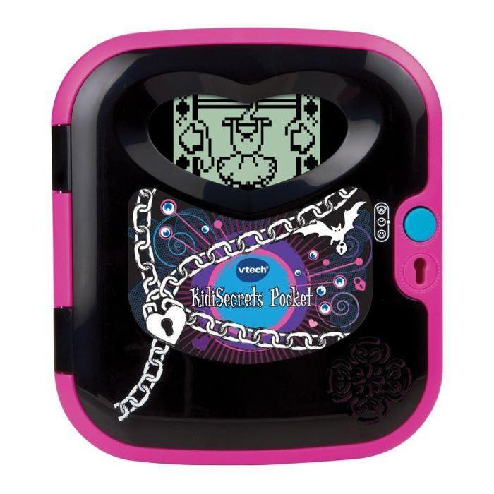 Kidi Secrets Pocket Black Edition Achat / Vente ordinateur enfant