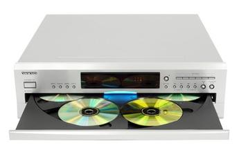 Lecteur CD haute fidélité avec chargeurs multi CD  