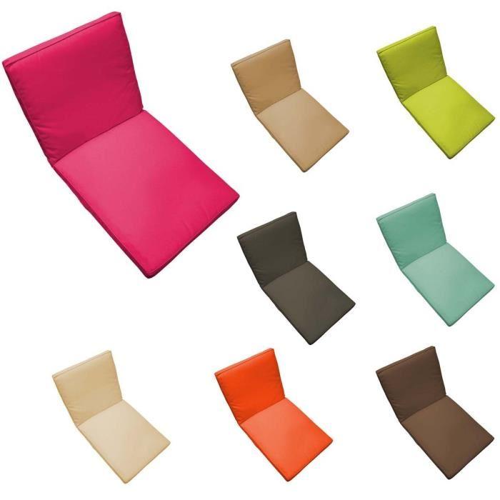Coussin pour fauteuil exterieur topiwall for Coussin chaise exterieur