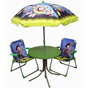 Jemini Salon de jardin pour enfant Toy Story 4 éléments