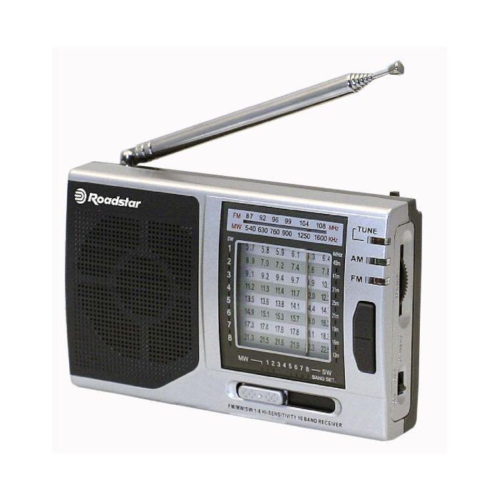 Roadstar Radio portable de voyage TRA 2988 g radio cd cassette