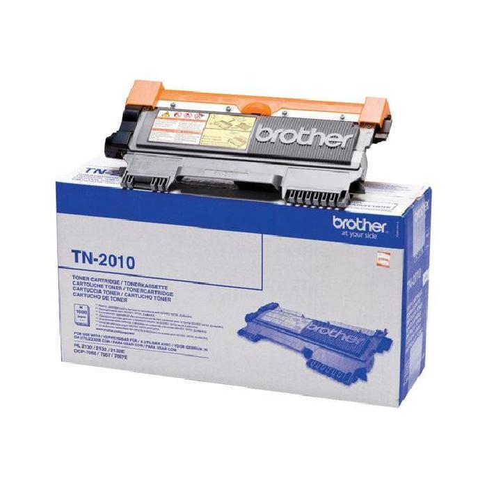 Brother TN2010 Noir x 10 Cartouche de toner Compatible pour Brother