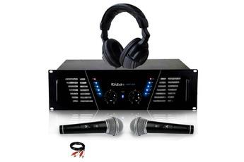 Amplificateur sono Amplificateur sono Dj 2 x 600W Max IBIZA SOUND AMP