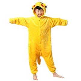 Grenouillère Kigurumi Enfant 3 10 Ans. Pikachu Stitch Panda Licorne