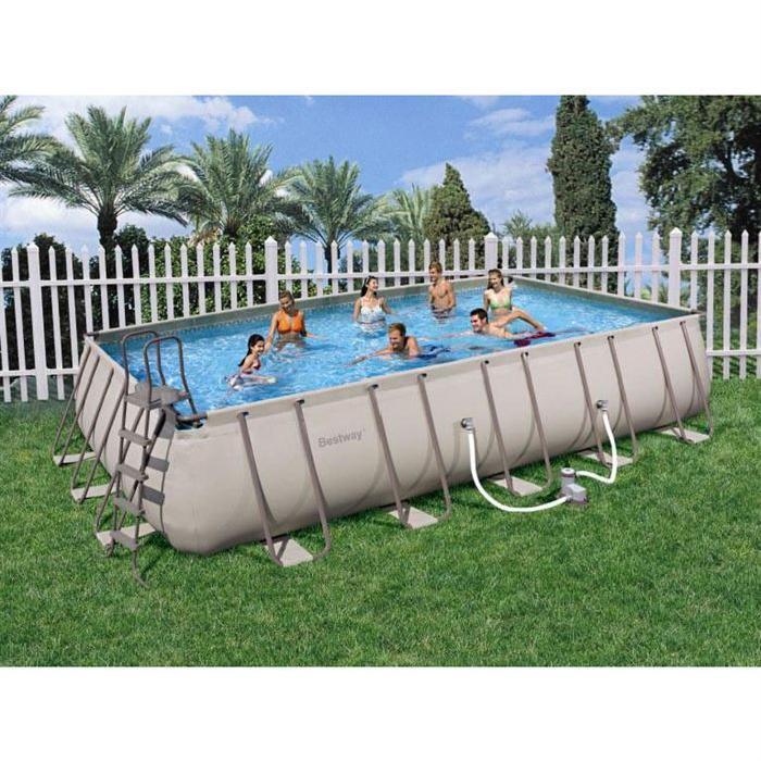 piscine autoportante rectangulaire topiwall. Black Bedroom Furniture Sets. Home Design Ideas