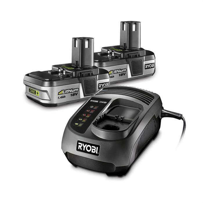 batterie Li Ion 2.4Ah Compatible avec toute la gamme ONE+ Chargeur