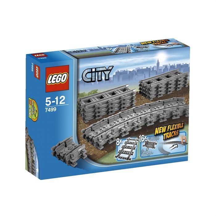 LEGO® City 7499 Rails Flexibles Achat / Vente assemblage