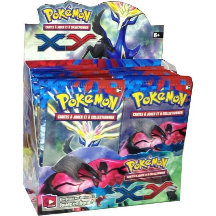 Nouvelle Boosters de 10 cartes Pokémon XY Achat / Vente cartes de