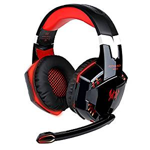 KOTION EACH Casque Gaming G2000 Gaming Headset Filaire Avec micro