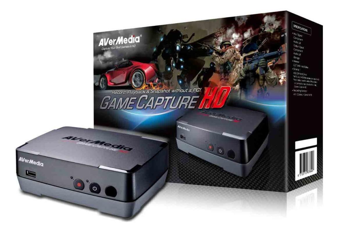Avermedia C281 Boitier d'enregistrement sans PC pour XBox360/PS3