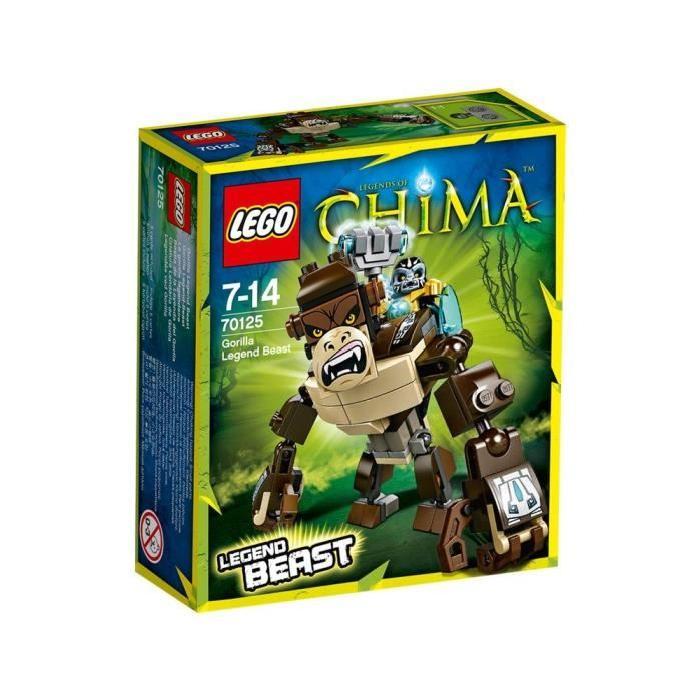 LEGO Chima 70125 Le Gorille Légendaire Achat / Vente assemblage