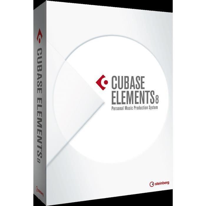 Steinberg Cubase Elements 8 logiciel de dj, avis et prix pas cher